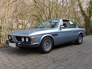 Picture of 1972 great BMW 3.0 CS, manual gearbox, new German MOT, 3rd hand SOLD