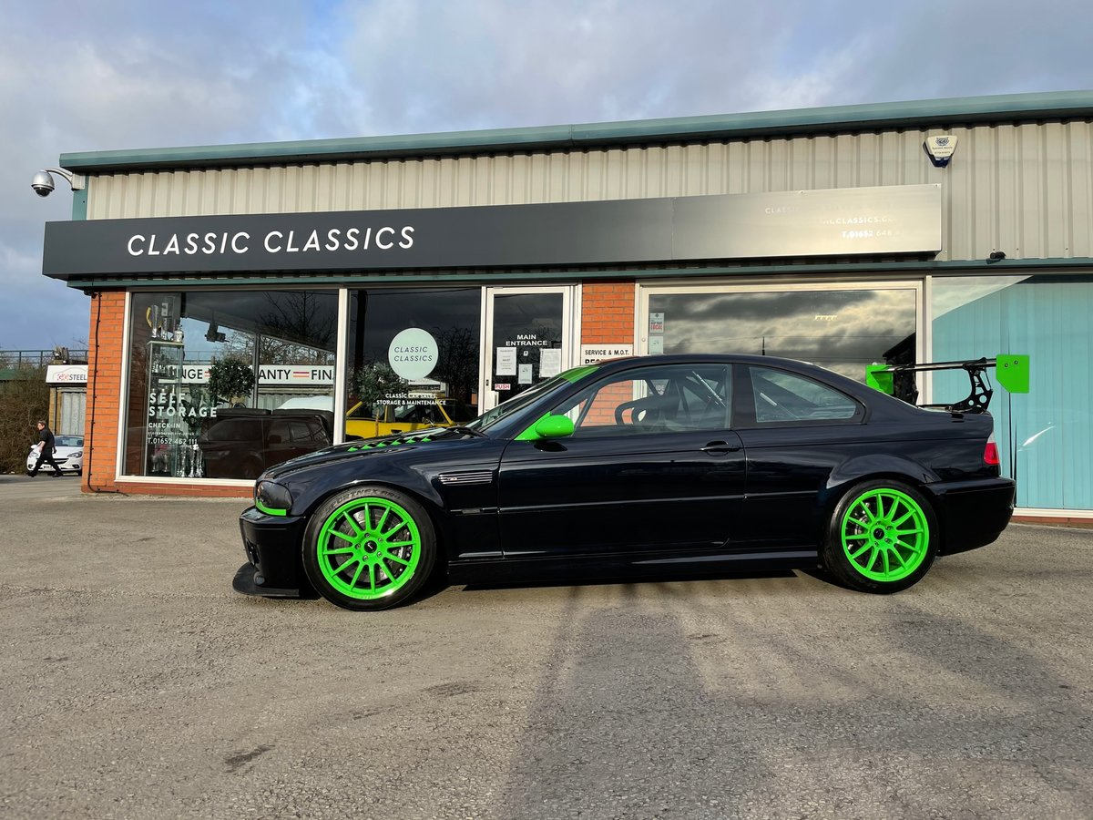 2003 BMW M3 E46 RACE/TRACK CAR For Sale (picture 1 of 25)