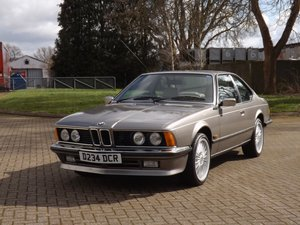 Picture of 1986 BMW 635 CSi - Guided 12 - 15K For Sale by Auction