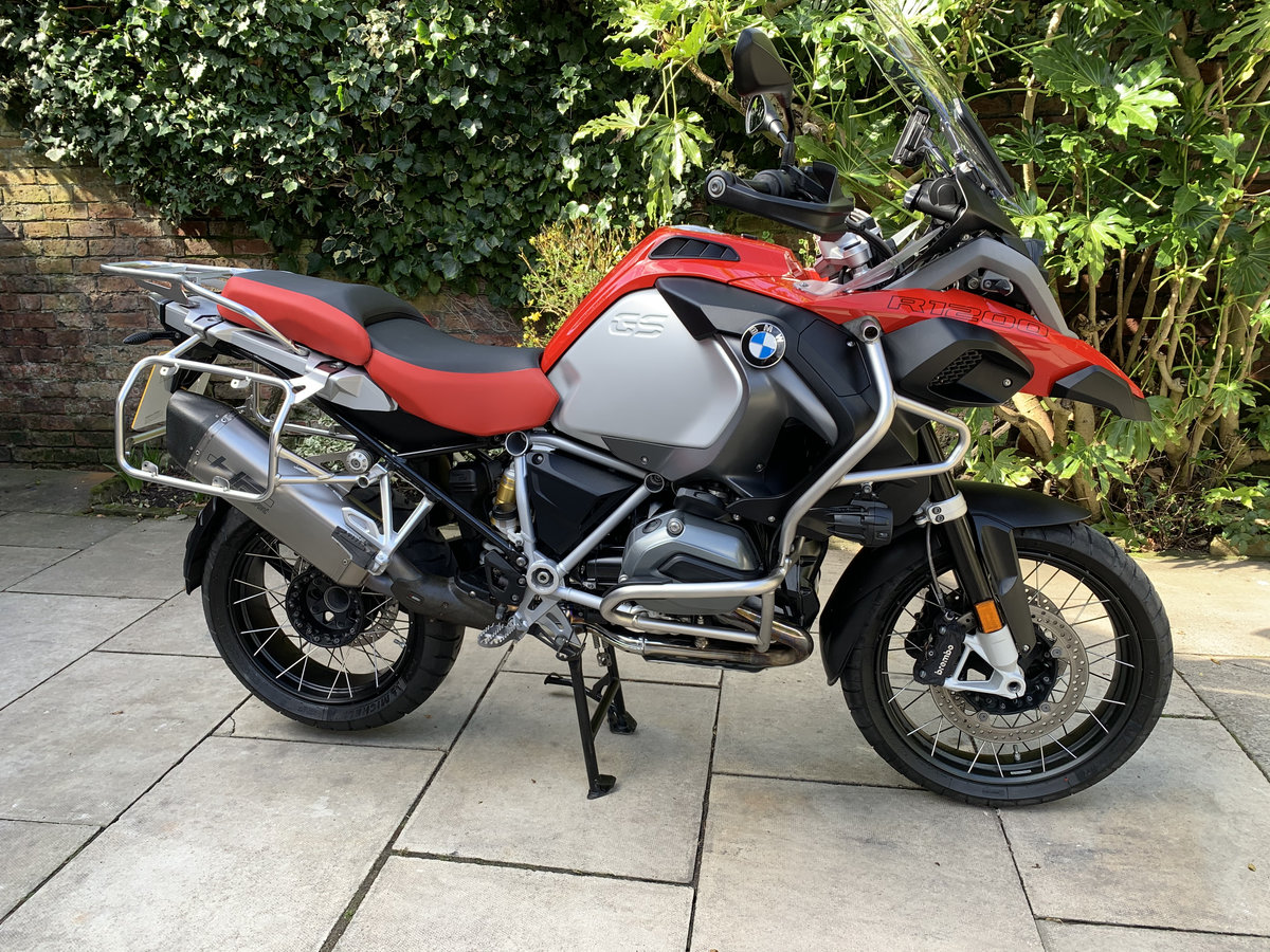 2018 BMW R1200GS Adventure TE, FSH, Exceptional For Sale (picture 1 of 12)