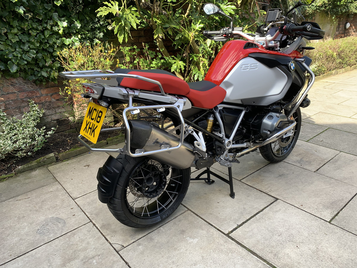 2018 BMW R1200GS Adventure TE, FSH, Exceptional For Sale (picture 4 of 12)