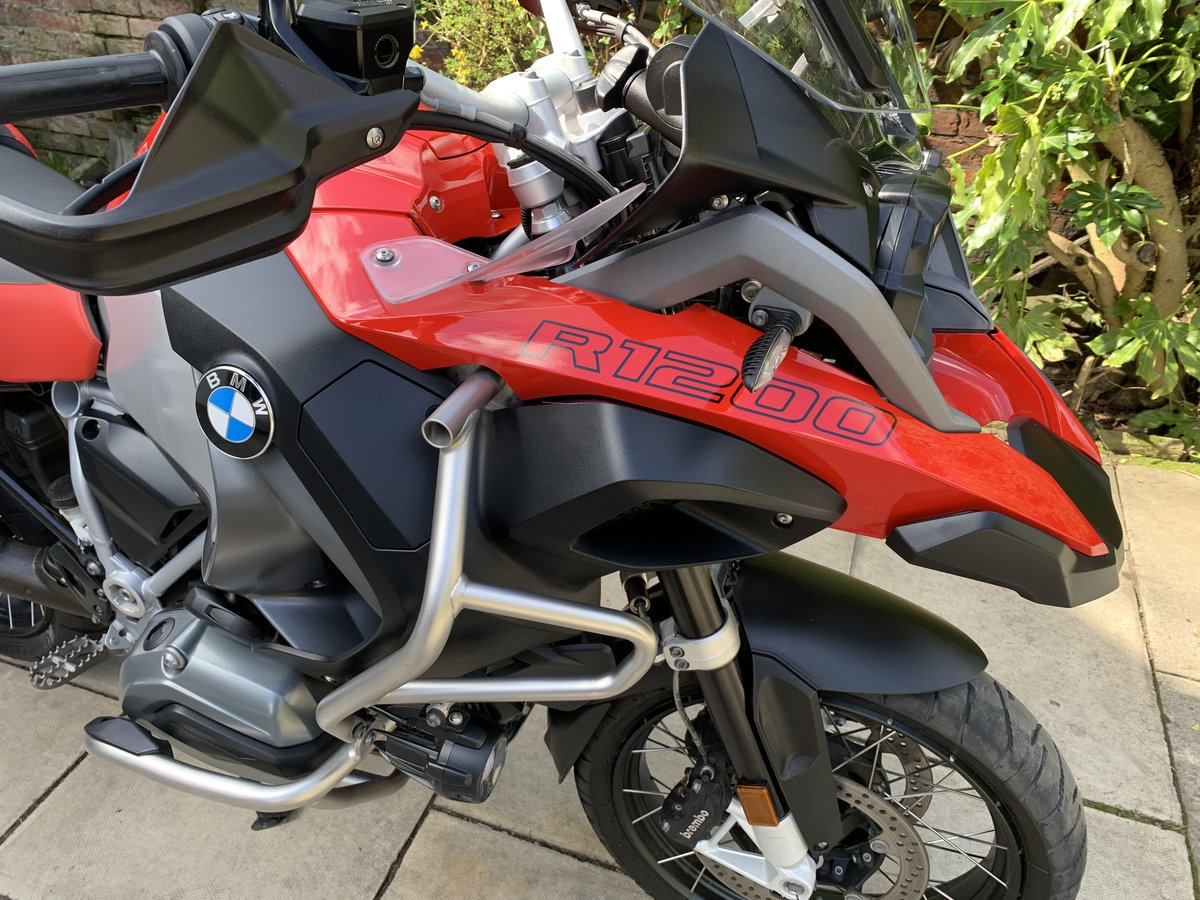 2018 BMW R1200GS Adventure TE, FSH, Exceptional For Sale (picture 5 of 12)