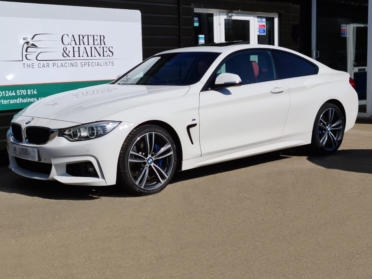 4 SERIES COUPE 430D M SPORT (2015/15) SOLD (picture 1 of 18)