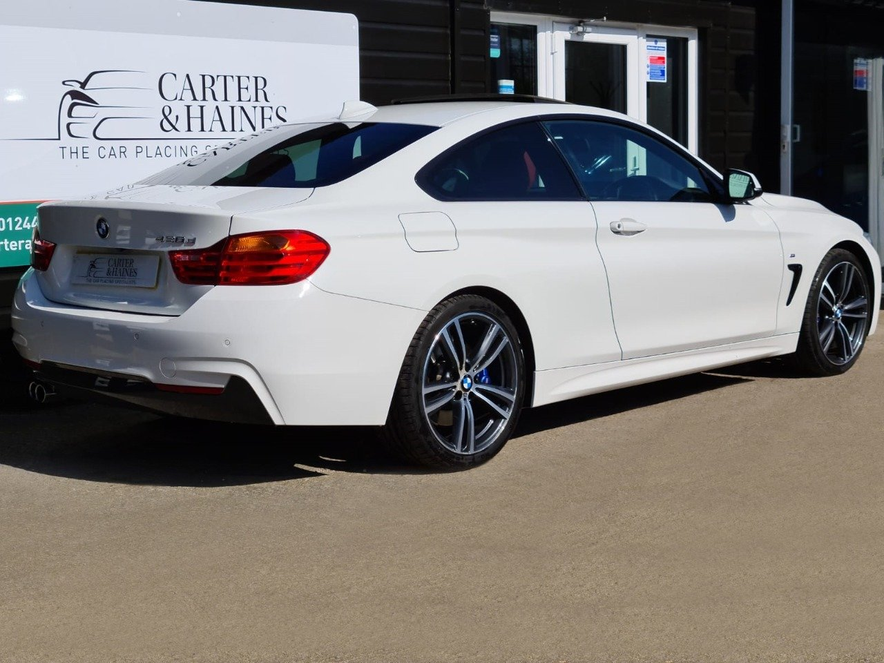 4 SERIES COUPE 430D M SPORT (2015/15) SOLD (picture 3 of 18)