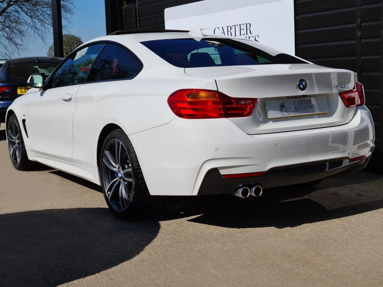 4 SERIES COUPE 430D M SPORT (2015/15) SOLD (picture 10 of 18)