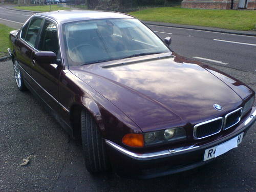 1998 BMW 735i, 112890 miles,good Classic Car For Sale (picture 1 of 6)