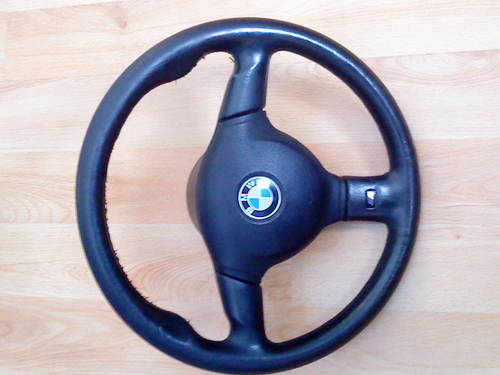 E36 BMW 325i  M TECH-2 STEERING WHEEL For Sale (picture 2 of 6)