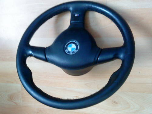 E36 BMW 325i  M TECH-2 STEERING WHEEL For Sale (picture 3 of 6)