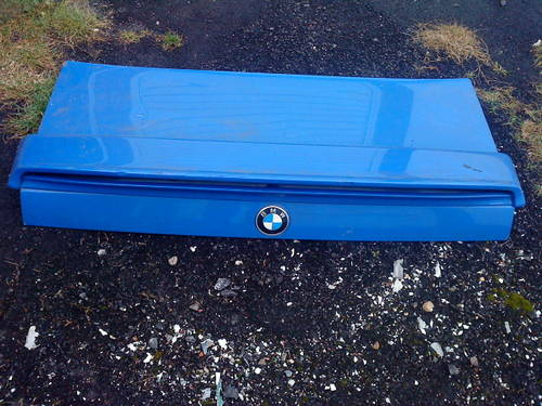 E30 BMW 325i BONNET & REAR BOOTLID/DOOR For Sale (picture 2 of 6)