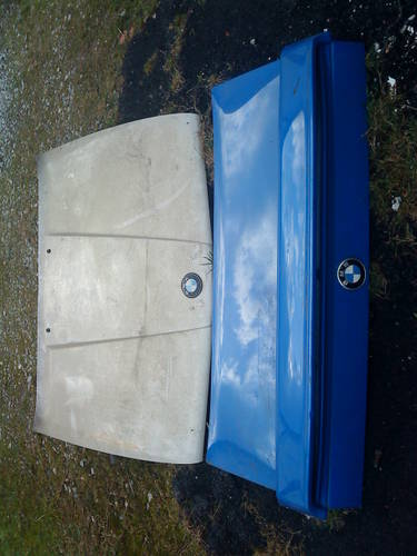E30 BMW 325i BONNET & REAR BOOTLID/DOOR For Sale (picture 6 of 6)