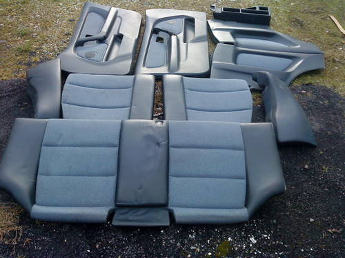 E36 BMW 316i COMPACT HALF LEATHER INTERIOR For Sale (picture 4 of 6)