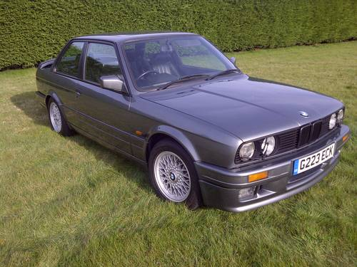 1989 BMW E30 325i M sport coupe 2 owners low miles SOLD