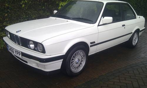 1990 Bmw 318is E30 2 Dr Alpine White Fsh Sold Car And