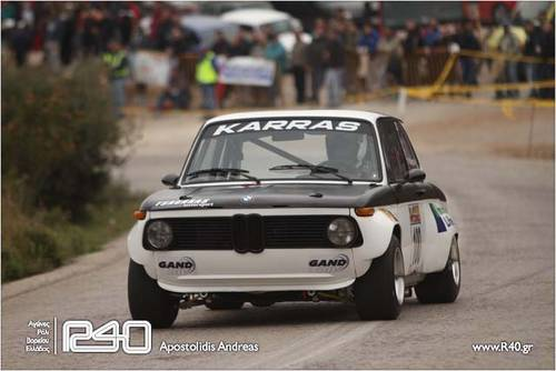 1975 BMW 2002 ti - Historic Rally car - FIA approved For Sale (picture 1 of 6)