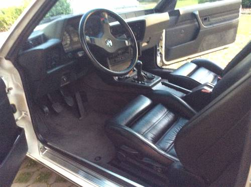 1986 BMW M635 CSI  no cat  europ  Specs. 80000 km For Sale (picture 4 of 6)