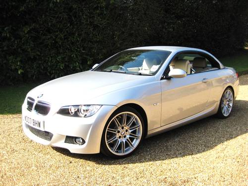 2007 BMW 325i M Sport Convertible With Just 5,000 Miles From New For Sale (picture 2 of 6)