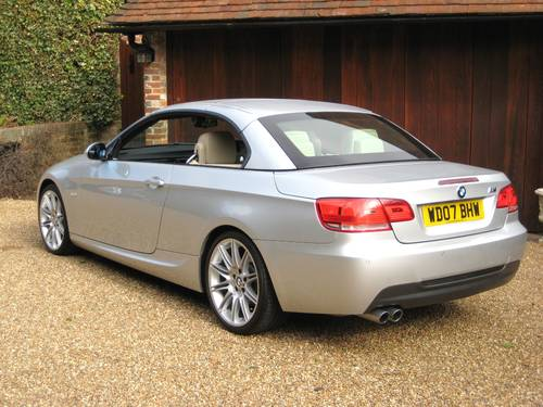 2007 BMW 325i M Sport Convertible With Just 5,000 Miles From New For Sale (picture 5 of 6)