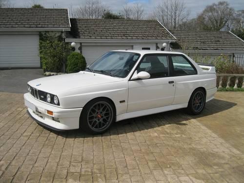 1988 BMW E30 M3 (AK05 215bhp) European Car For Sale (picture 1 of 6)