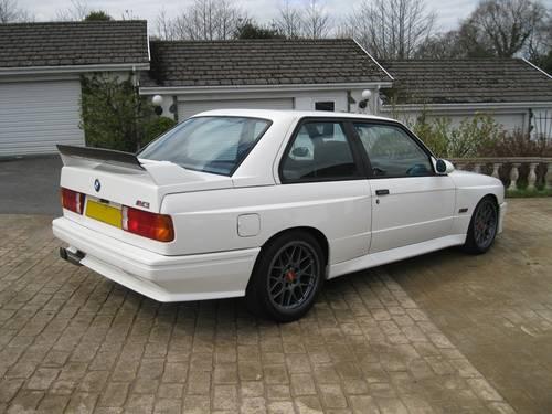 1988 BMW E30 M3 (AK05 215bhp) European Car For Sale (picture 3 of 6)