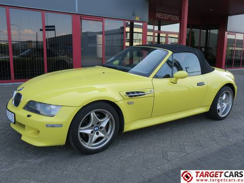 2001 BMW Z3M Roadster 3.2L S50 Cabrio 321HP LHD For Sale (picture 1 of 6)