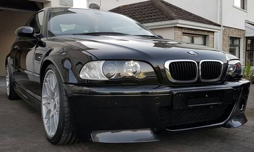 BMW (E46) M3 CSL 2004 Black Sapphire For Sale (picture 3 of 5)