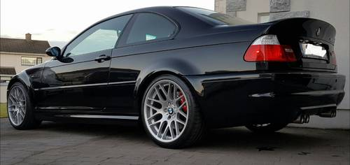 BMW (E46) M3 CSL 2004 Black Sapphire For Sale (picture 4 of 5)