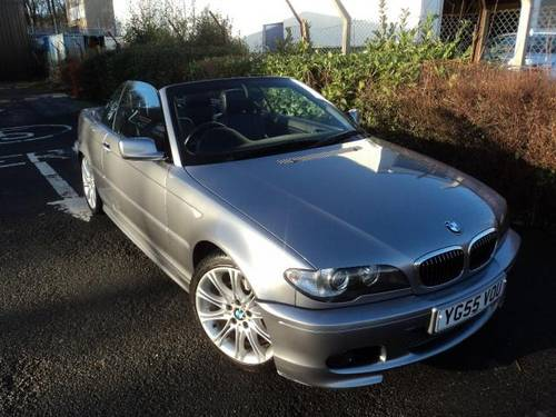 2006 06 55 BMW 320Ci CONVERTIBLE AUTOMATIC For Sale (picture 1 of 4)