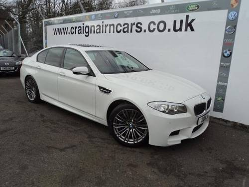 2012 BMW M5 4.4 553 BHP Massive Spec Car Only 7000 Miles For Sale (picture 1 of 6)