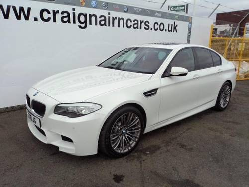 2012 BMW M5 4.4 553 BHP Massive Spec Car Only 7000 Miles For Sale (picture 4 of 6)