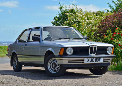 1980 BMW 316 E21 - Polaris Silver - Original low mileage example  For Sale (picture 1 of 6)