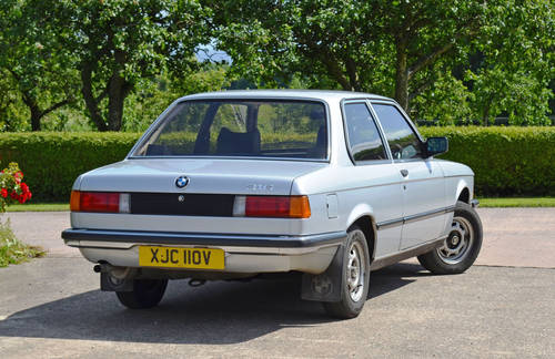1980 BMW 316 E21 - Polaris Silver - Original low mileage example  For Sale (picture 2 of 6)