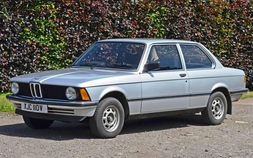 1980 BMW 316 E21 - Polaris Silver - Original low mileage example  For Sale (picture 3 of 6)