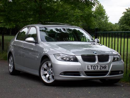 2007 BMW 3 SERIES 3.0 330i SE 4dr Auto - Brown Leather + Sunroof For Sale (picture 1 of 6)