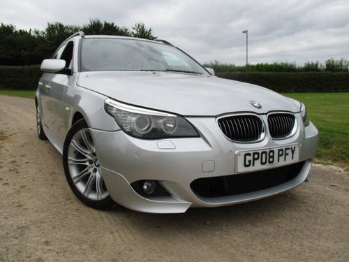 2008 BMW 530D M Sport Auto Touring (109,292 miles) For Sale (picture 1 of 6)