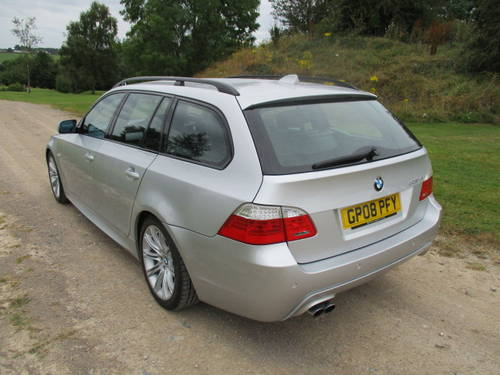 2008 BMW 530D M Sport Auto Touring (109,292 miles) For Sale (picture 2 of 6)
