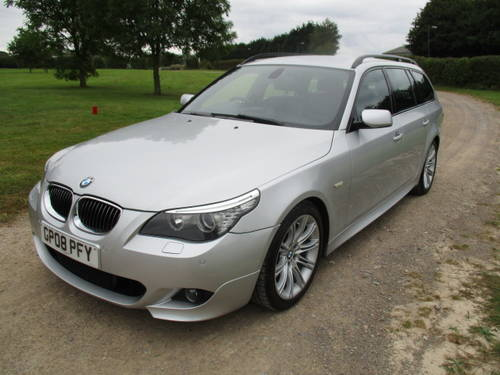2008 BMW 530D M Sport Auto Touring (109,292 miles) For Sale (picture 3 of 6)