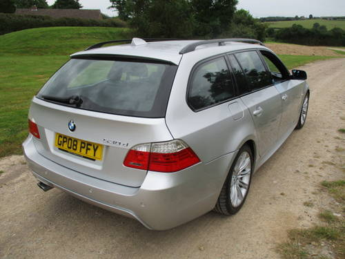 2008 BMW 530D M Sport Auto Touring (109,292 miles) For Sale (picture 4 of 6)