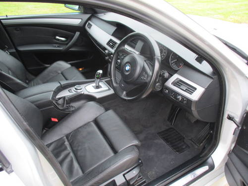 2008 BMW 530D M Sport Auto Touring (109,292 miles) For Sale (picture 5 of 6)