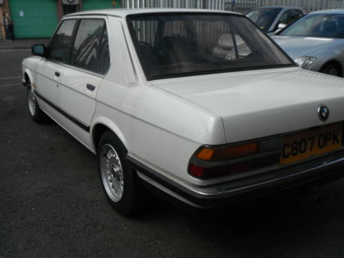 1986 E28 Pearlecent White The Only 1 in the Country For Sale (picture 5 of 6)
