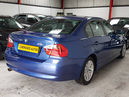 2007 BMW 318I SE SALOON*GENUINE 39,000 MILES*FSH* 07 PLATE*MINT For Sale (picture 2 of 5)