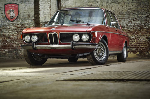 1975 BMW 3,0 S * excellent and  very original condition  For Sale (picture 1 of 6)