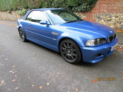 BMW M3 smg drivelogic individual convertible 2003  For Sale (picture 2 of 6)