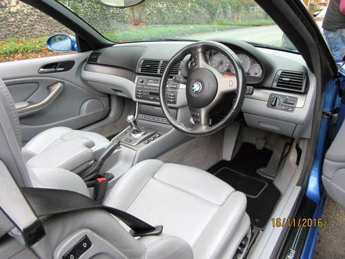 BMW M3 smg drivelogic individual convertible 2003  For Sale (picture 3 of 6)