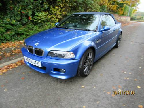 BMW M3 smg drivelogic individual convertible 2003  For Sale (picture 5 of 6)