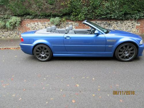 BMW M3 smg drivelogic individual convertible 2003  For Sale (picture 6 of 6)