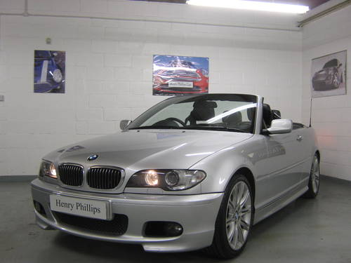 2004 BMW 330 Ci Sport Convertible Manual For Sale (picture 1 of 6)