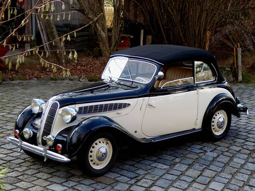 1939 BMW 321 – Cabriolet Autenrieth For Sale (picture 1 of 6)