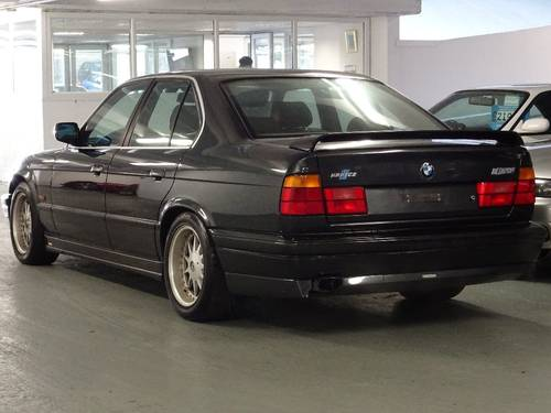 1990  BMW 5 SERIES 3.4 535i Sport 4dr GENUINE HARTGE H5 SP 3.5 For Sale (picture 2 of 6)