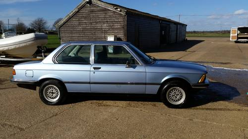 1977 BMW e21 320A Extremely low mileage For Sale (picture 2 of 5)