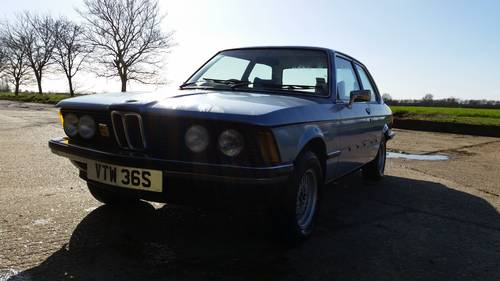 1977 BMW e21 320A Extremely low mileage For Sale (picture 1 of 5)